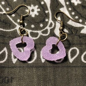 Gummy Heart Earrings